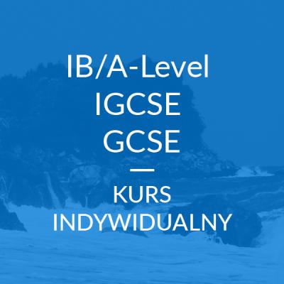 Kurs: IB/A-Level, IGCSE, GCSE
