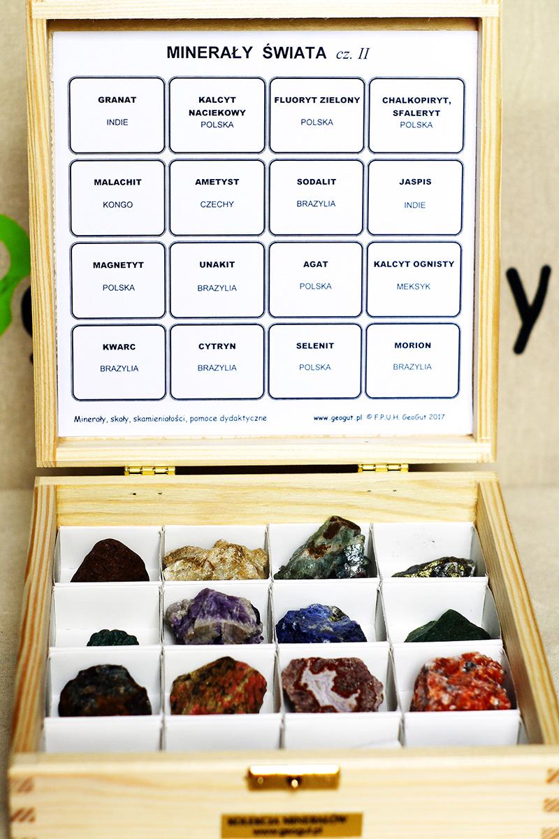 Zestaw Minerałów II